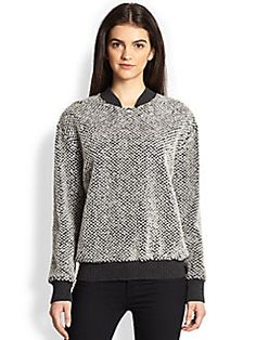 Timo Weiland - Textured Bomber Sweater