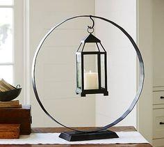 Lantern Orb Hook #potterybarn