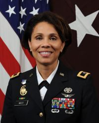 Nadja West, deputy chief of staff for the US Army Medical Command will be promoted to Major General, making West the first African American two star general in the United States Army Medical Command.
