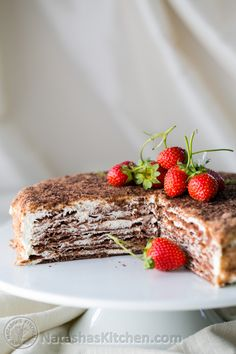 This chocolate spartak cake is probably the most requested video tutorial on my blog. It also happens to be my favorite cake – and my son's favorite! I learned from the best; Mama :). Actually Mom's classic version is vanilla. A couple tiny tweaks and it...