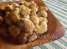 Receita de castanhas caramelizadas com açúcar e gergelim