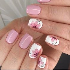 Best Nail Designs of 2019 – Latest Nail Art Trends – 17 These nail designs will be your indispensable. Stamp this summer with the latest trend nail designs. these great nail designs will perfect you. Now let's take a look at these designs Nail Design Spring, Fall Nail Art Designs, Spring Nail Art, Short Nail Designs, Cute Nail Designs, Acrylic Nail Designs, Pedicure Designs, Spring Nail Colors, Latest Nail Designs
