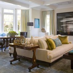Article Bring Back Intimacy In A Large Room With To Sofas