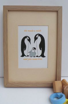 penguin family  nursery art print https://www.etsy.com/uk/listing/191843966/nursery-art-penguin-family-kids-wall-art?ref=listing-shop-header-2