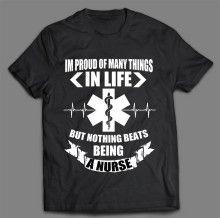 BEING A NURSE T-SHIRT Professional Nurse, Love My Job, Mens Tops, T Shirt, Supreme T Shirt, Tee Shirt, Tee