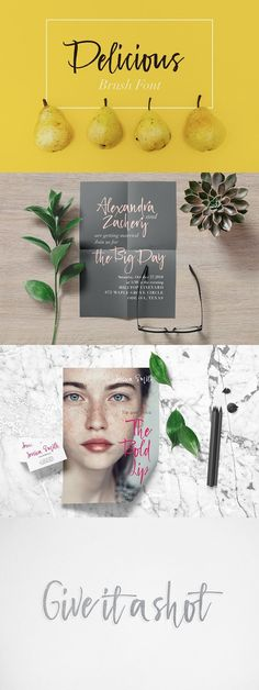 About Delicious Brush Font --- Delicious Brush Font is a bright juicy lovely modern calligraphy typefaces. Delicious is good for both short texts and headlines. Text Fonts, Script Fonts, Brush Font, Cool Fonts, Modern Calligraphy, Glyphs, Handwriting Fonts, Fonts
