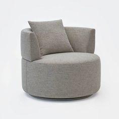 Olivia Swivel Barrel Chair