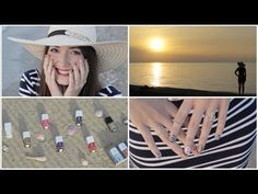 Loving this tutorial from Cutepolish, definitely going to try this out this summer! Nautical Nail Art: Mix & Match for Summer!