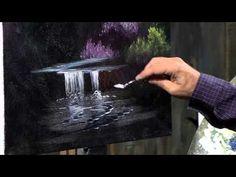 Technique de peinture d'un rocher - YouTube