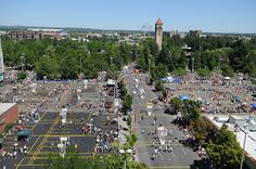 Hoopfest is this weekend! Downtown Spokane will be busy with players and vendors. A great experience for anyone new to the area!
