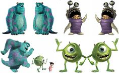 i like the movie monster inc i just got pics and made them a wallpaper hope yall like