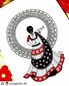 Mandala Art Lesson, Mandala Artwork, Mandala Drawing, 3d Art Drawing, Art Drawings For Kids, Art Drawings Sketches Simple, Dancing Drawings, African Art Paintings, Art Articles