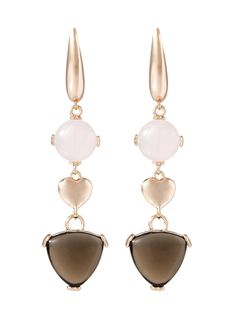 Pendant Earrings Bronzallure WSBZ00303.RS Bronze Quartz: Amazon.co.uk: Jewellery