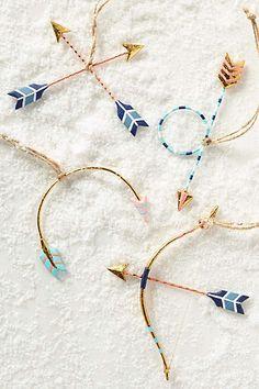 Love's Arrow Ornament - anthropologie.com