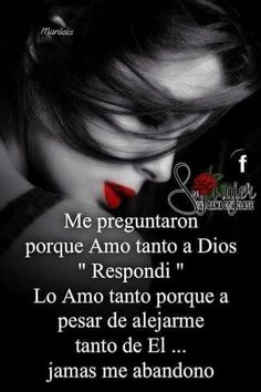 Positive Phrases, Motivational Phrases, Spanish Inspirational Quotes, Spanish Quotes, Gods Love Quotes, Quotes About God, Christian Devotions, Christian Quotes, Romantic Humor