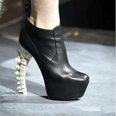 Skeletal Dsquared2 Fall 2010 Shoes Are Anatomazing #shoes trendhunter.com