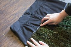 individually abby: DIY: Feather Skirt