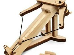 Miniature Wooden Ballista Kit