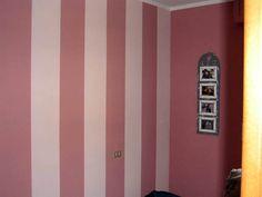 Pareti A Strisce Lilla : Come dipingere pareti a righe verticali e orizzontali studio