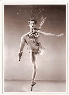 Tanaquil LeClercq in Balanchine's 'Metamorphoses' 1952. In 1956, she contracted polio and never danced again. KA