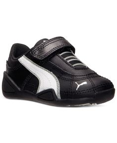 83f5191035f62e Puma Roma Basic Kids Toddler 354260-01 Black White Shoes Sneakers Td Baby  Size 9
