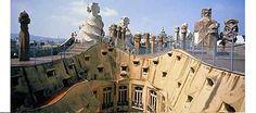 casa Milà, Barcellona, designed by Antoni Gaudí, 1905–10