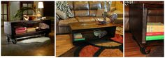 "I loved this coffee table so much that I tried to recreate it - Please visit and ""like"" my facebook page to view more items and have me added to your news feeds to see new items first -- www.facebook.com/TinasTakeOver"