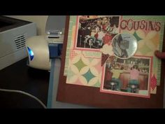Jenn's Sizzix Eclips Video #2 Laser Point Cutting Preview