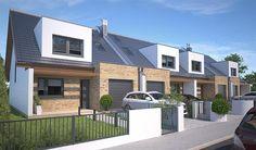 projekt Bradfield DCS25 WOB1617 Semi Detached, Detached House, Luxury Modern Homes, Townhouse Designs, Residency Programs, Home Fashion, Home Builders, Architecture Design, House Plans