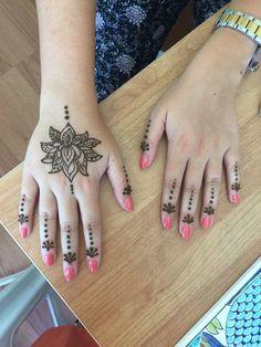 My work - henna - indian - handmade / Ümmühan Çelikkaya