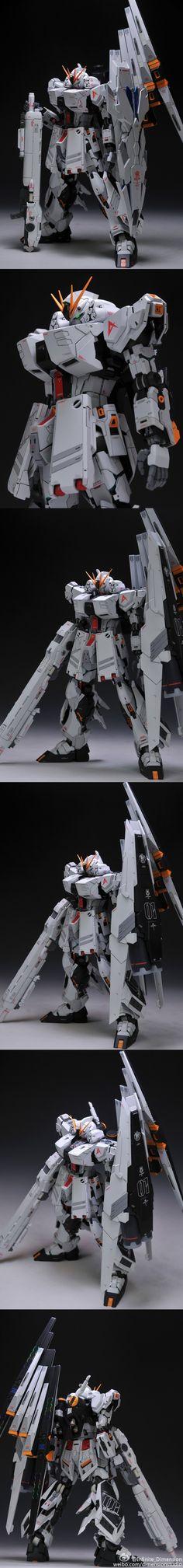 POINTNET.COM.HK - 正到爆的作品!!! MG 1/100 Nu Gundam ver Ka EVO