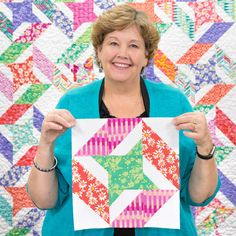 Quilting should be fun and we give you easy quilting projects, quick quilting how-to tutorials, and commentary to keep you smiling till the very last stitch. Missouri Star Quilt Tutorials, Quilting Tutorials, Quilting Projects, Quilting Designs, Msqc Tutorials, Sewing Projects, Star Quilt Patterns, Star Quilts, Quilt Blocks