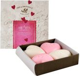 Hearts Collection of Shea Butter Soap Gift Box by Pre de Provence (25g each Soap Set)