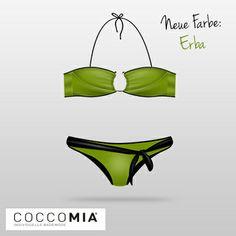 #COCCOMIA #Bikini - Neue Farbe Erba