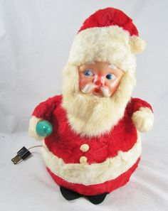 Vintage 1960 S Christmas Snowman Light Up Plastic Blow