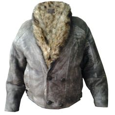 Women's Aviator B3 Real Shearling Bomber Sheepskin Leather Jacket Free Shipping #Handmade #BasicJacket