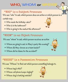 Who vs Whom vs Whose. In this lesson, we will learn the difference between commonly confused words Who, Whom and Whose and how to use them correctly. English Speaking Skills, Learn English Grammar, English Writing Skills, English Reading, English Phrases, English Words, English Lessons, Grammar And Vocabulary, English Vocabulary