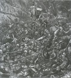Fantasy Battle, Fantasy Races, Medieval Fantasy, Dark Fantasy, Warhammer Empire, Warhammer Fantasy, Imperium, Black And White Artwork, Classical Antiquity