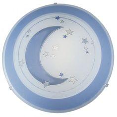Eglo Lighting Speedy Children's Light in Pale Blue and White