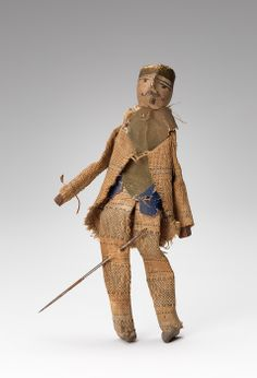 Voodoo doll collected by Charles at Williams College Museum of Art, Prendergast Archive and Study Center