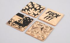 Goodhood Cork Coasters and Placemats
