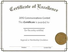 Certificate Microsoft Word Certificate Of Completion Template