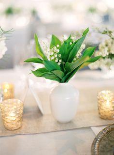 Romantic White Wedding in Napa | White Wedding Ideas | Lily of the Valley