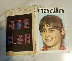 "Cartea ""Nadia"" Nadia Comaneci Perfect 10, Sport Gymnastics, Sports Stars, Female Athletes, Romania, Big, Celebrities, Board, Vintage"