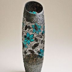 hand painted bohemian vase - Google Search
