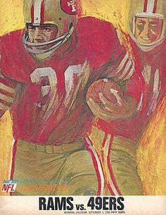 Joe Hamilton - SAN FRANCISCO 49ERS VINTAGE PROGRAM 2