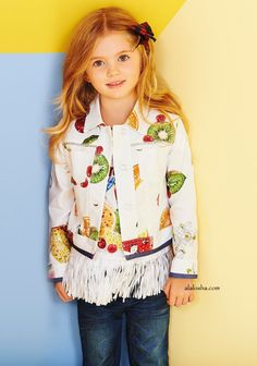 ALALOSHA: VOGUE ENFANTS: Must Have of the Day: Combine Tropical fruits for the perfect print salad with MONNALISA♥