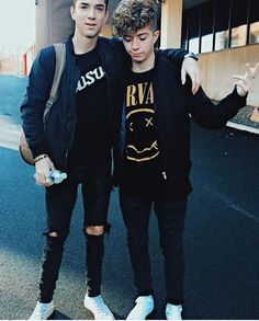 Jack Avery and Daniel Seavey (BTW I SHIP IT #JANIEL FOR LIFE!!!!!)