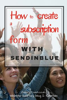 Find out how to use SendinBlue's form builder. Easily create a subscription form…