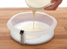 Molde circular desmontable para tus pasteles más delicados